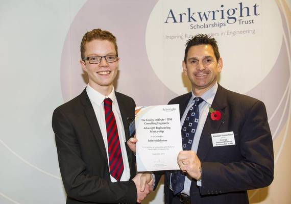 Arkwright Scholarships Trust Honours 397 New Scholarships